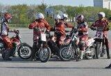 Tarptautiniame motobolo turnyre pirmąją vietą iškovojo kretingiškiai