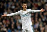 """Z.Zidane'as: """"Nesutarimų tarp C.Ronaldo ir S.Ramoso nėra"""""""