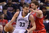 """Brolio patarimų paklausęs M.Gasolis nenori žaisti """"Lakers"""" gretose"""