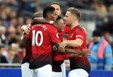 """Ankstyvas M.Rashfordo įvartis padovanojo """"Manchester United"""" dar vieną pergalę ir leido pakilti į penktą vietą"""