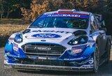 D.Jocius startuos pasaulio ralio čempionate su WRC bolidu