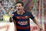 """Futbolo gandai: """"Man City"""" siūlo L.Messi įspūdingą algą, J.Kloppas taikosi į """"Borussia"""" duetą"""