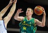 Australijos rinktinė iškovojo bilietą į olimpiadą