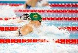 K.Teterevkova pagerino Lietuvos plaukimo rekordą
