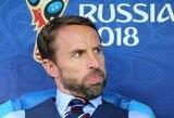 G.Southgate'as paaiškino, kodėl pasirinko antrą sudėtį rungtynėse su Belgija