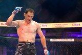 Sugrįžtantis M.Žaromskis sukirto rankomis su viena garsiausių Europos MMA organizacijų