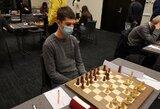 Šachmatų čempionas išaiškės tiesioginėje akistatoje