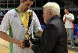 """Tarptautiniame turnyre Druskininkuose """"Dzūkija"""" startavo pergale prieš Marijampolės klubą"""