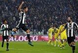 """""""Juventus"""" nepaliko vilčių lygos naujokams ir pratęsė pergalių seriją"""