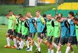 Lietuvos jaunimo futbolo rinktinė ruošiasi atsirevanšuoti moldavams