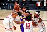 """NBA čempionas: """"Centrai turi sirgti už """"Lakers"""" komandą"""""""