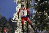 Pasaulio biatlono čempionate lietuviai ties kelią į Pjongčangą