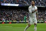 """S.Ramosas: """"Sunkiais momentais reikia, kad fanai mus palaikytų, o ne spardytų gulinčius"""""""