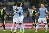 """""""Lazio"""" Italijoje iškovojo triuškinančią pergalę"""