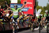 """J.Degenkolbas laimėjo dar vieną """"Vuelta a Espana"""" lenktynių etapą, bendros įskaitos lyderiai nesikeičia"""