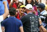 """""""US Open"""" čempione tapusi E.Raducanu netikėtai atsisveikino su treneriu"""