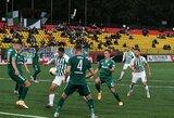 """LFF taurės ketvirtfinalis: """"Žalgiris"""" iš tolimesnių kovų eliminavo """"Kauno Žalgirį"""""""