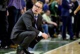 """0:2 negąsdina: N.Nurse'as tiki """"Raptors"""" šansais patekti į NBA finalą"""