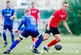 """Kovingumo neužteko: FK """"Vilnius"""" namuose nusileido FC """"Hegelmann"""""""