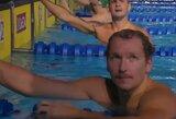 ISL plaukimo lygoje S.Bilis padėjo komandai laimėti estafetės rungtį