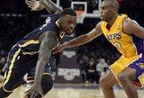 """""""Pacers"""" po didžiosios pertraukos pasiuntė """"Lakers"""" į eilinę nesėkmę (visi rezultatai)"""