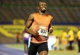 U.Boltas gali lengviau atsikvėpti – greičiausias pasaulio žmogus bus įtrauktas į Jamaikos olimpinę rinktinę
