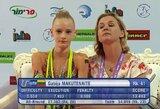 Lietuvos gimnastei iki vietos jaunimo olimpiadoje pritrūko mažiau nei dviejų taškų