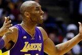 """K.Bryantas iš """"Lakers"""" bandys išpešti maksimalų atlyginimą"""
