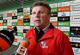 """V.Čeburinas: """"Komanda – valinga, Marijampolėje sieksime teigiamo rezultato"""""""