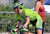"""Prestižinėse """"Giro d'Italia"""" dviračių lenktynėse R.Leleivytė – trečia"""