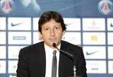 PSG direktoriaus Leonardo diskvalifikacija padidinta iki sezono pabaigos