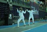 Europos jaunimo fechtavimo čempionate O.Mašalo nepateko į atkrintamąsias varžybas