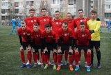 """FK """"Vilnius"""" debiutinį sezoną vainikavo triuškinančia pergale prieš FC """"Pakruojį"""""""