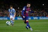 """S.Eto'o įsitikinęs, kad L.Messi pasirašys naują kontraktą su """"Barcelona"""""""