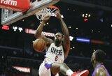 """Po krepšiu dominavęs D.Jordanas pratęsė """"Lakers"""" nesėkmių seriją"""