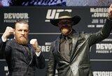 C.McGregoras ir D.Cerrone'as pagaliau susitiko: kovotojai išreiškė vienas kitam pagarbą