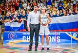 13-metė J.Jocytė žais Lietuvos moterų krepšinio lygoje