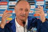 """L.F.Scolari: """"Taip daugiau nepralaimėsime net ir per 1000 metų"""" (+ T.Silva komentaras)"""