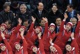 Brangus svetingumas: olimpiados šeimininkams Šiaurės Korėjos atstovų vizitas kainuos milijonus JAV dolerių