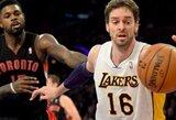 """""""Lakers"""" klubas pasiruošęs išmainyti P.Gasolį"""