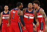 """Siautėjęs J.Wallas padėjo """"Wizards"""" padaryti tai, ko nebuvo 38 metus"""
