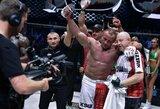 M.Pudzianowskis MMA narve susikaus su olimpiniu sunkiosios atletikos čempionu