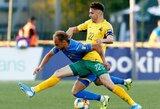 Lyg namuose žaidusi Ukrainos rinktinė įtikinamai nugalėjo Lietuvą