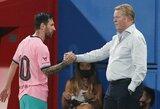 """L.Messi sulaukė R.Koemano pagyrų: """"Jis vis dar yra geriausias"""""""