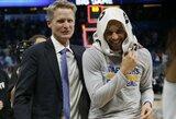 """S.Kerras: """"Jamesas yra geresnis už Durantą ir Curry"""""""