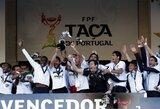 """""""Benfica"""" sezonas pasibaigė tragiškai – pralaimėtas Portugalijos taurės finalas, Škotijoje – """"Celtic"""" iškovojo šalies taurę"""