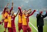 """Įvarčių fiestoje pergalę ir kelialapį į kitą Čempionų lygos etapą iškovojo """"Galatasaray"""""""