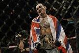 """Naujai iškeptas UFC čempionas M.Holloway: apie būsimus varžovus, """"pinigų kovas"""" ir C.McGregorą"""