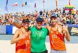 Rusus įveikę Lietuvos tinklininkai pirmą kartą iškovojo Europos jaunimo čempionato medalius!