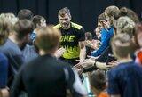 """""""Siemens"""" arenoje vykusiame labdaringame badmintono turnyre – S.Maslobojevas, S.Babrauskas, A.Pogrebnojus ir kitos žvaigždės"""